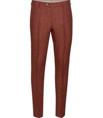 denz trousers casual broek vrijetijdsbroek bruin oscar jacobson