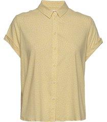 majan ss shirt aop 9942 overhemd met korte mouwen samsøe samsøe