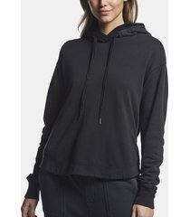 lotus terry sherpa hoodie