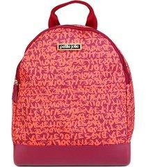 mochila petite jolie graffiti uni bag feminina