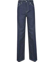chloé long straight classic jeans