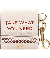 anya hindmarch match book key charm