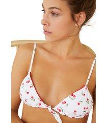top bikini triangular reversible multicolor women secret 5985889 copa-b9800