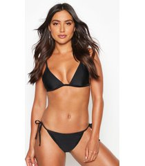 mix & match itsy bitsy bikini top, black