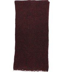maison margiela ribbed scarf
