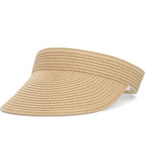 madewell packable straw visor in natural straw at nordstrom