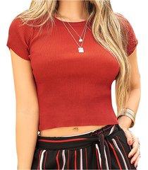 blusa keira vinotinto  para mujer croydon