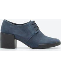 tacones casuales mujer camper z1bl azul