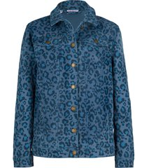 giacca di jeans elasticizzata fantasia (blu) - john baner jeanswear