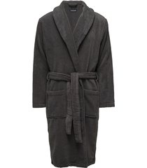 icon bathrobe accessories night & loungewear robes grijs tommy hilfiger