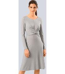 jurk alba moda taupe::grijs