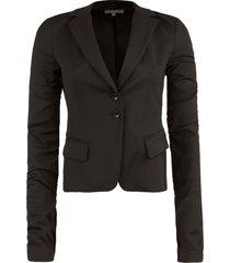 klassieke blazer floriana  zwart