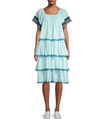 boho tiered dress
