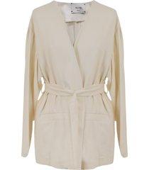 alysi viscose blend blouse