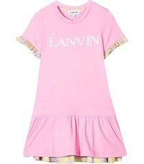 lanvin lavnin enfant t-shirt dress