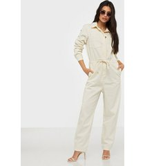 only onqmelanie ls boilersuit dnm jeans jumpsuits