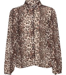 florizzaiw shirt blouse lange mouwen bruin inwear