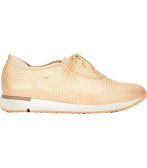 zapatos con cordón nápoles de cuero para mujer