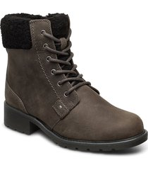 orinoco dusk shoes boots ankle boots ankle boot - flat grå clarks