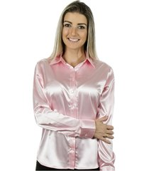 camisa pimenta rosada lola