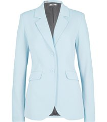blazer sciancrato in jersey di cotone (blu) - bpc bonprix collection