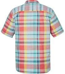 rutig skjorta babista korall::mint