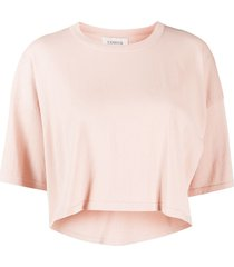 laneus crop t-shirt - neutrals