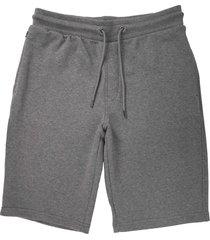 emporio armani grigio melange bermu shorts 8n1ph3-1j07z 630