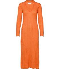 tearz dress maxiklänning festklänning orange fall winter spring summer