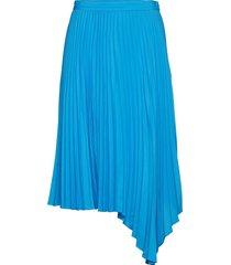 2nd zsazsa knälång kjol blå 2ndday