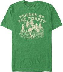 fifth sun men's forest friends short sleeve t-shirt