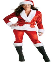 buy seasons women's mrs. santa suit costume
