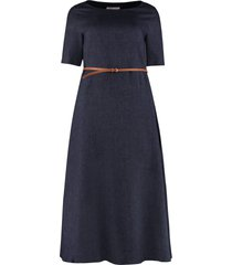 fabiana filippi linen maxi dress