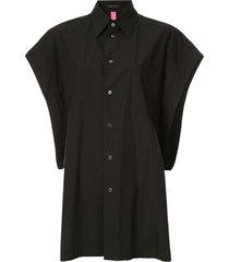 y's batwing sleeve shirt - black