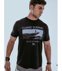camiseta fide old school preta