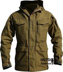 men army tactical windbreaker waterproof flight coat military field jacket