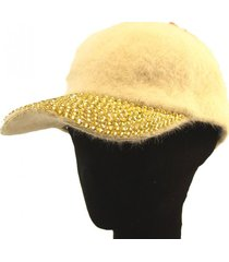 gorra beige almacén de paris
