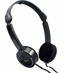 fe-111 plegables audífonos para juegos con cable-negro