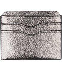 bespoke men's pebble faux-leather card case