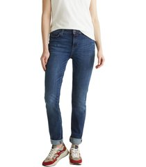 jeans straight medium rise denim esprit