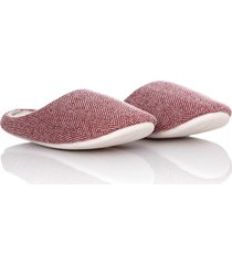 slippers comfy thm mujer vinotinto