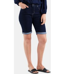 levi's women's denim bermuda shorts