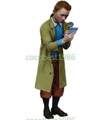 tintin cosplay (with coat) from the adventures of tintin coat pants underwear