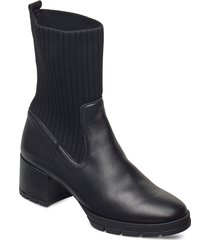 jese_nf shoes boots ankle boots ankle boot - heel svart unisa