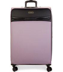 karl lagerfeld paris 31.25-inch spinner suitcase - black