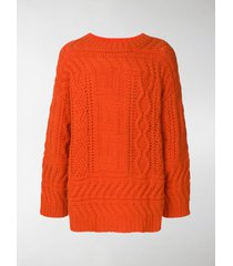 etudes chunky ribbed sweater