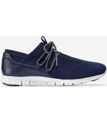 calzado dama azul  zerogrand quilted sneaker cole haan