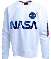 alpha industries alpha industries cotton blend sweatshirt
