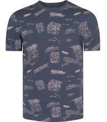 camiseta con estampado para hombre freedom 00790