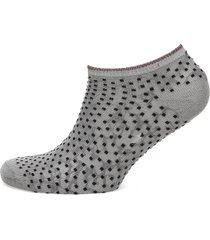 dollie dot footies träningssockor/ankle socks grå becksöndergaard